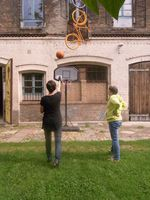 Basketballkorbspende © Alia